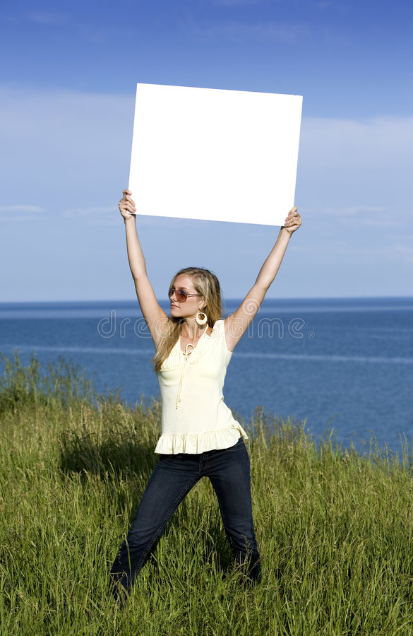 Mujer en el verano imágenes de archivo libres de regalías
