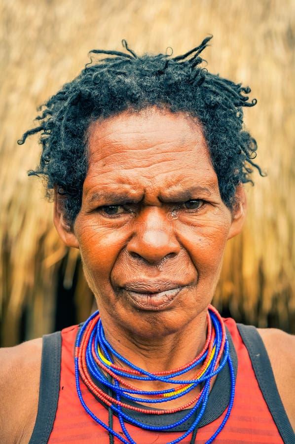 Mujer en Indonesia en Indonesia fotos de archivo libres de regalías
