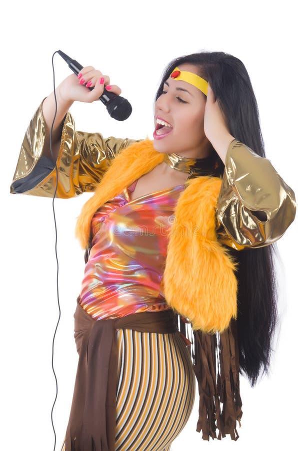 Download Mujer en ropa española foto de archivo. Imagen de hembra - 41913658