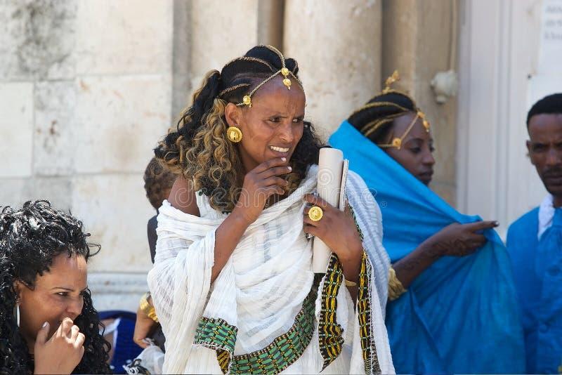 Mujer etíope fotos de archivo