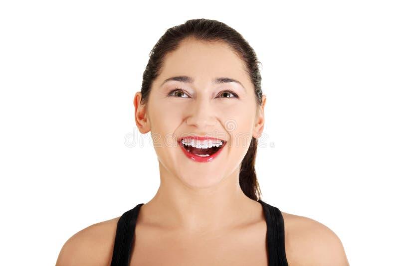 Download Mujer feliz imagen de archivo. Imagen de cuidado, muchacha - 22555103