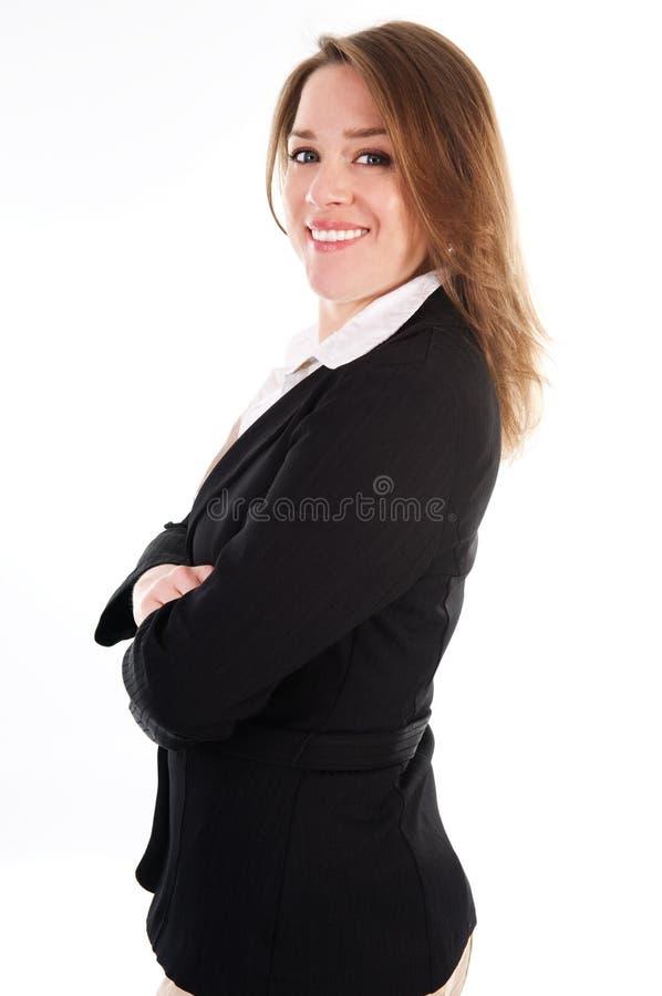 Mujer feliz foto de archivo libre de regalías