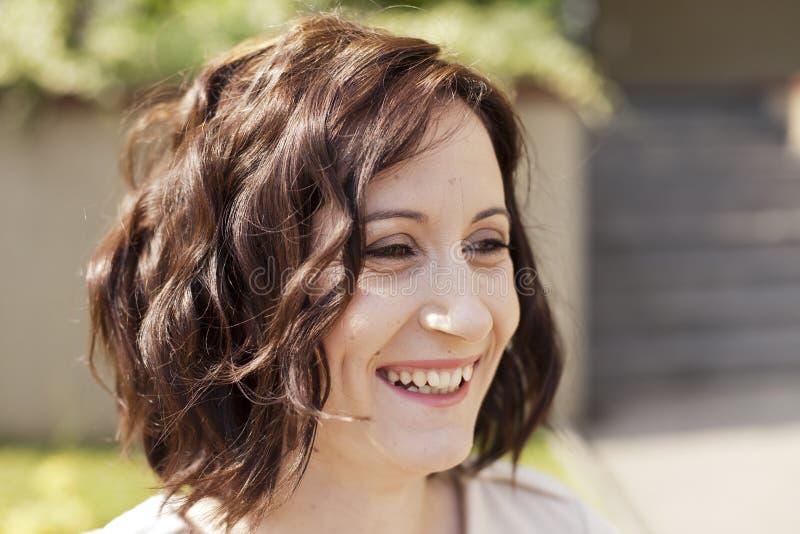Mujer feliz fotografía de archivo libre de regalías