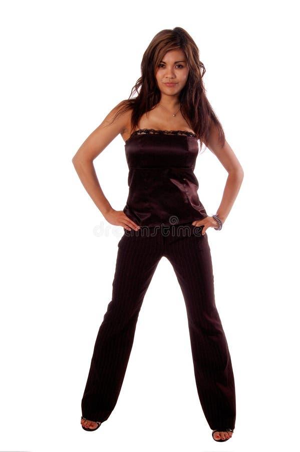 Mujer formal 3c de la manera fotografía de archivo libre de regalías