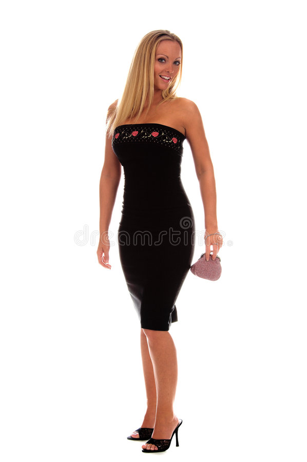 Mujer formal atractiva imagen de archivo libre de regalías