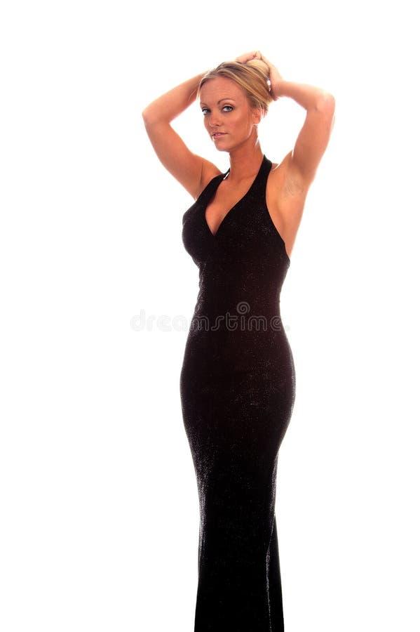 Mujer formal atractiva fotografía de archivo libre de regalías