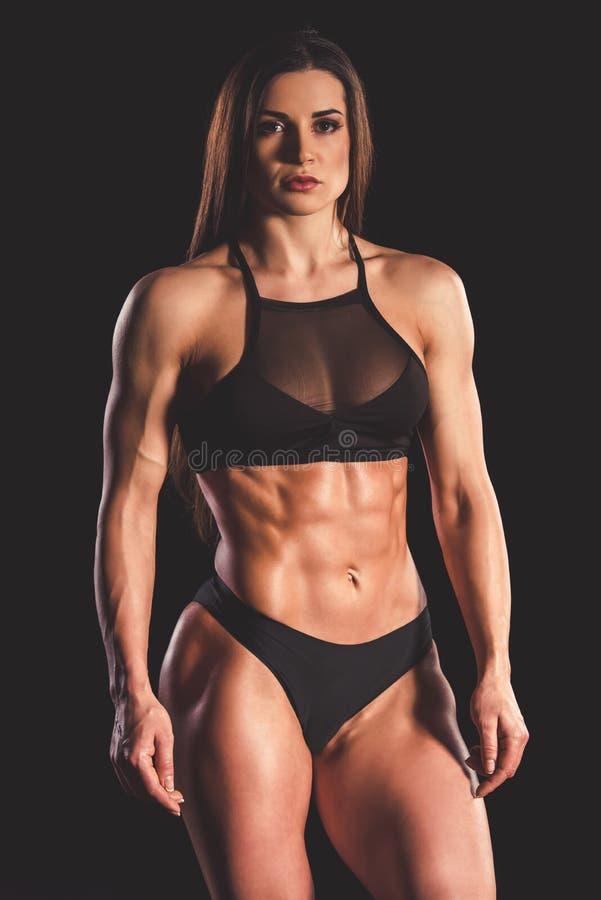 Mujer fuerte hermosa foto de archivo