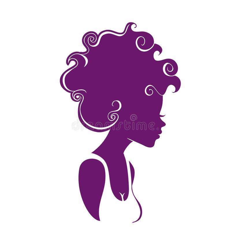 Mujer hermosa ilustración del vector