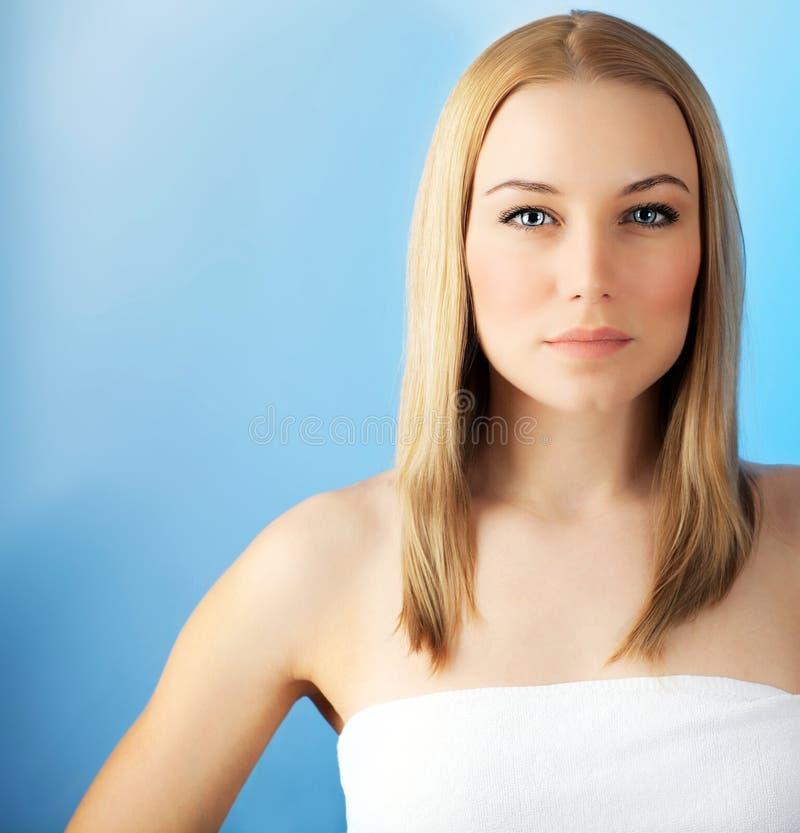 Mujer hermosa de la cara imagen de archivo