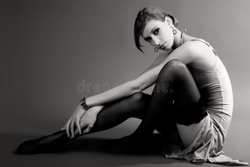 Mujer hermosa de la manera imagen de archivo libre de regalías