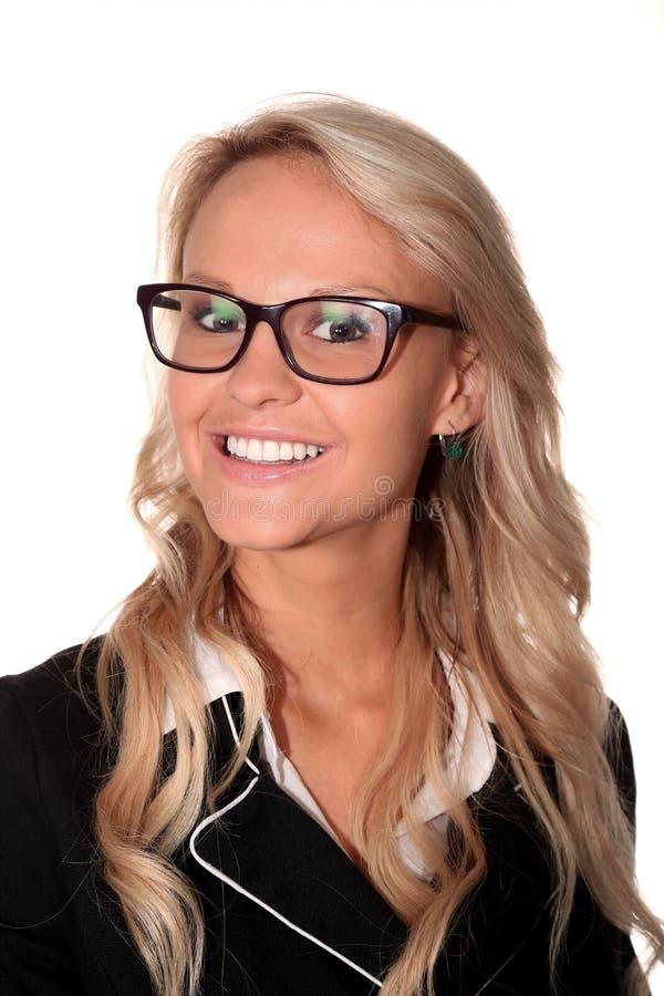 Mujer hermosa de la oficina corporativa foto de archivo libre de regalías