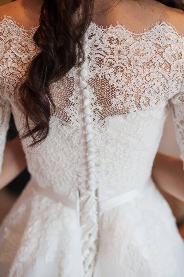 Mujer hermosa en la imagen de la novia fotografía de archivo