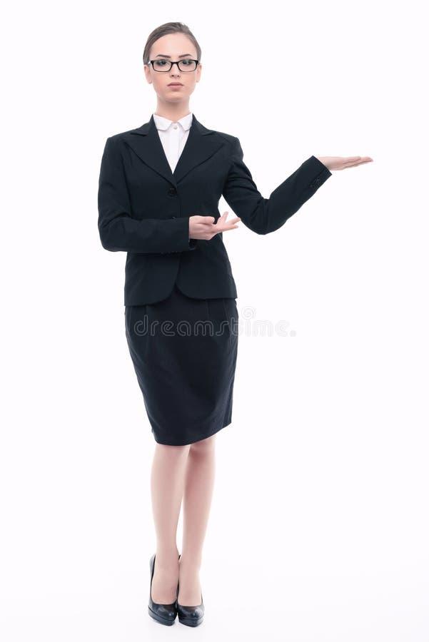 Mujer hermosa en ropa formal foto de archivo libre de regalías