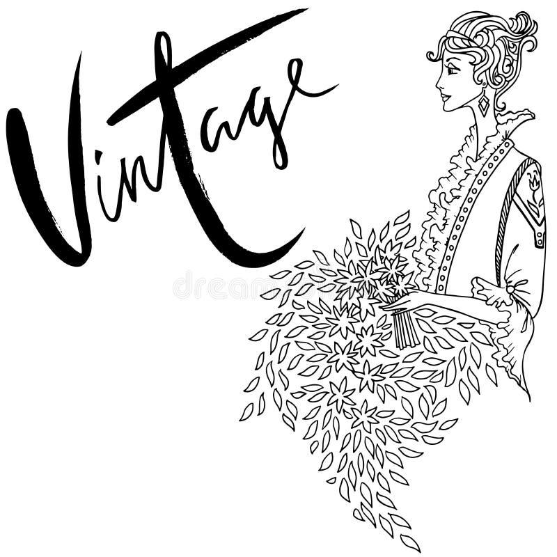 Atractivo Libro De Colorear Vintage Embellecimiento - Páginas Para ...