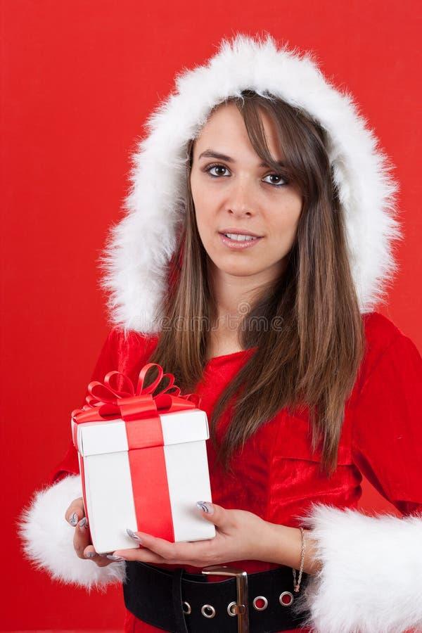 Mujer hermosa y atractiva imagen de archivo libre de regalías