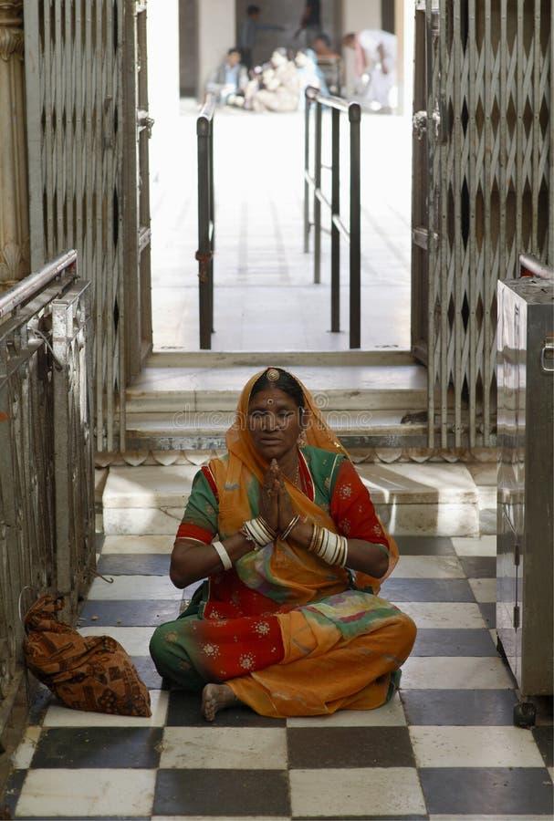 Mujer hindú foto de archivo libre de regalías