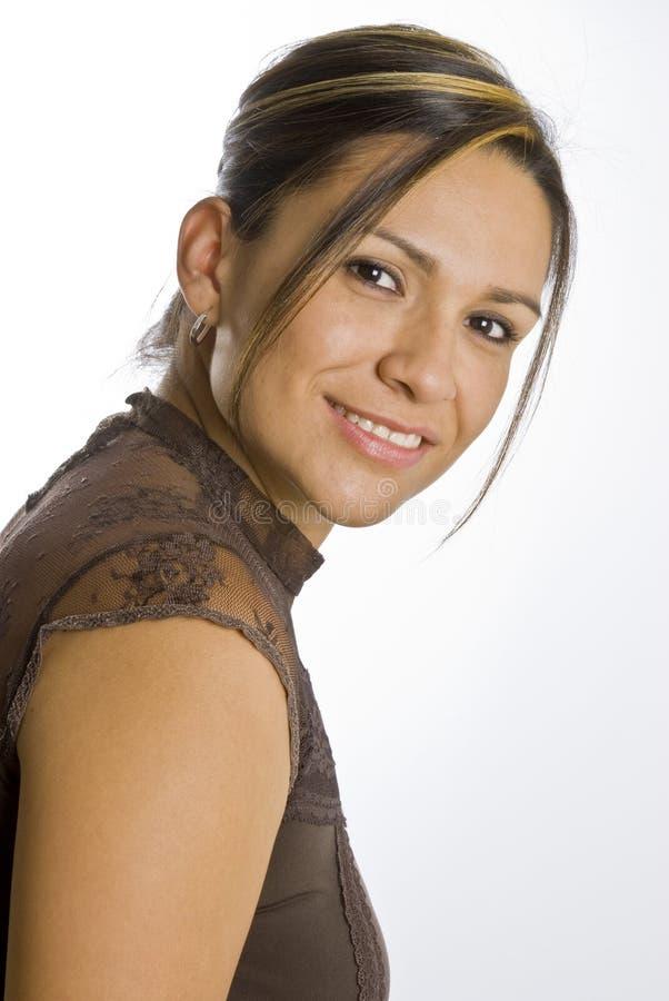 Mujer hispánica imagenes de archivo
