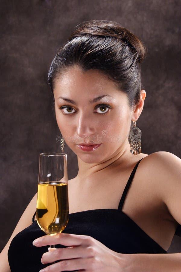 Mujer hispánica hermosa foto de archivo