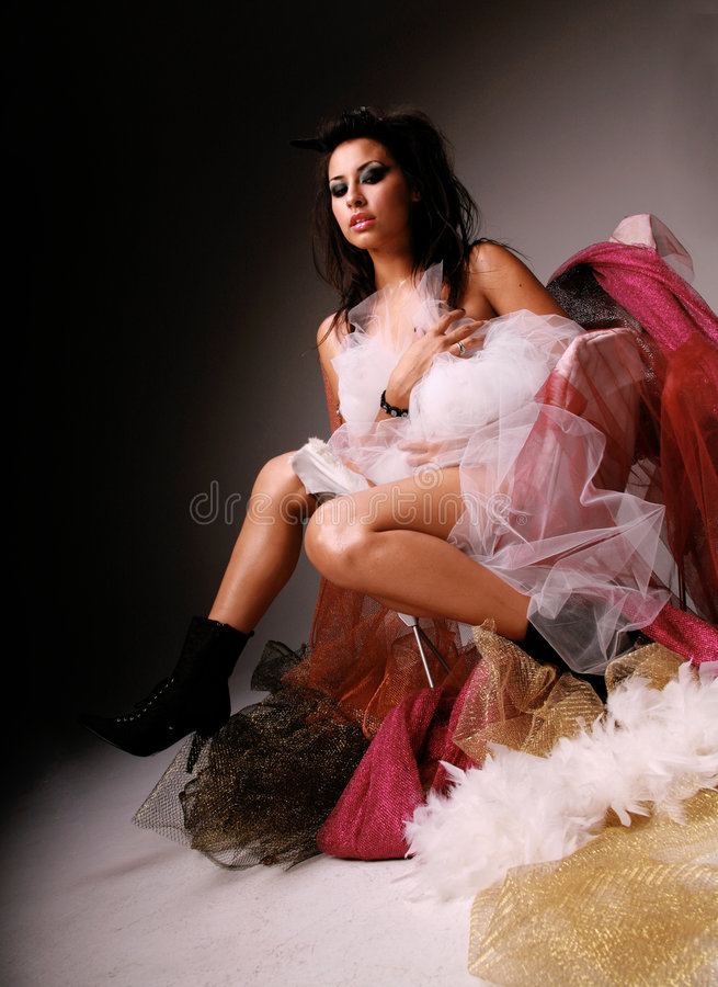 Mujer hispánica hermosa fotos de archivo