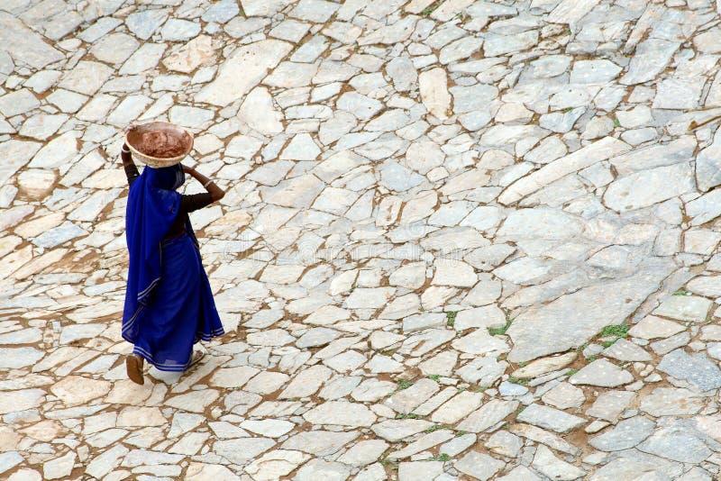 Mujer india foto de archivo