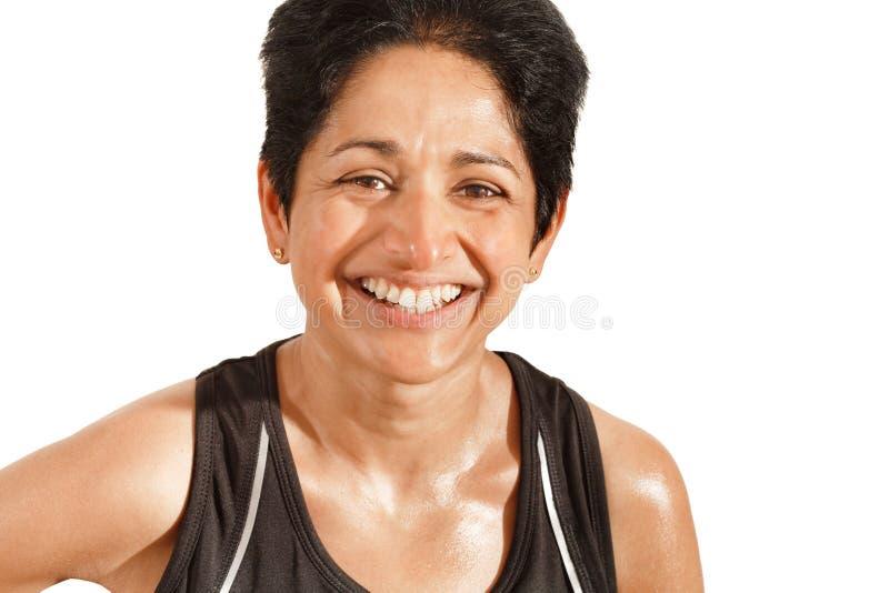 Mujer india atlética fotos de archivo libres de regalías