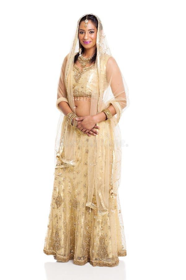 Mujer india tradicional foto de archivo
