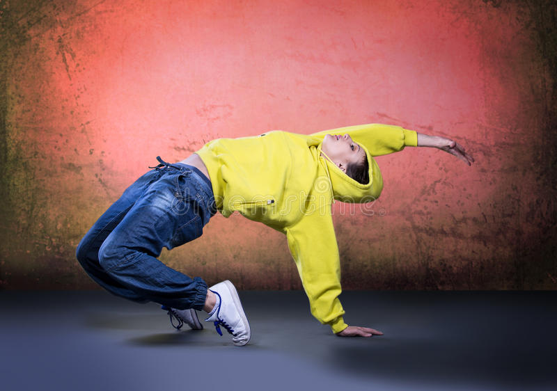 Muchacha de la danza fotografía de archivo libre de regalías
