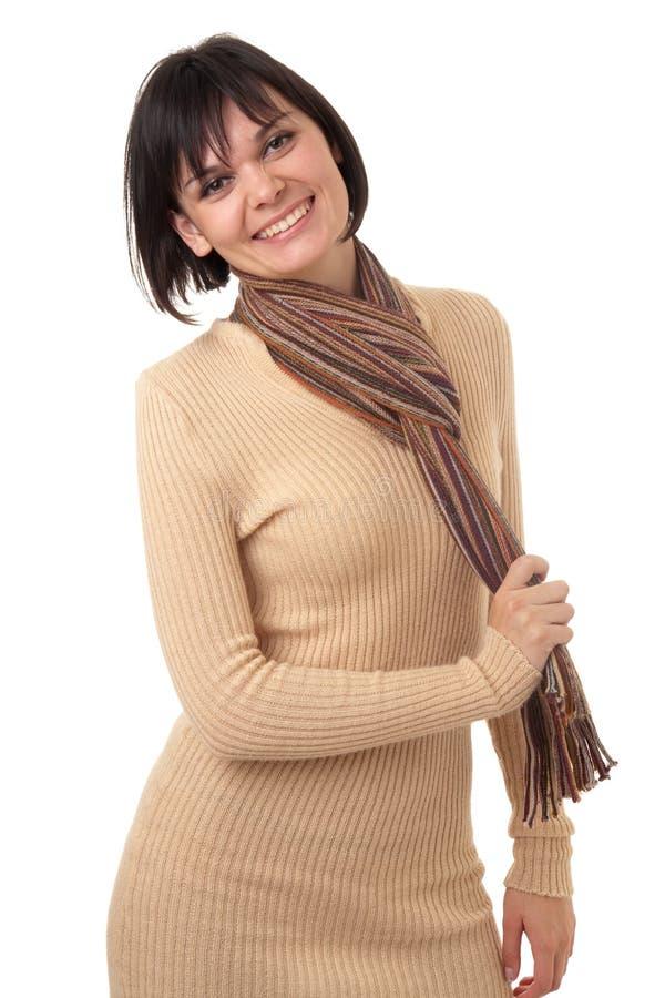 Download Mujer Joven Hermosa Con La Bufanda Imagen de archivo - Imagen de señora, encanto: 7284011