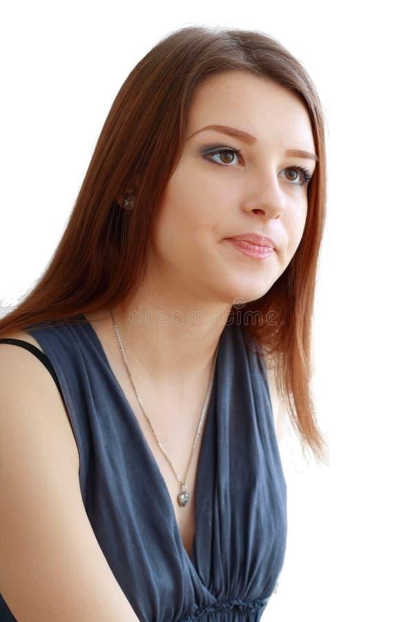 Mujer joven infeliz fotografía de archivo libre de regalías
