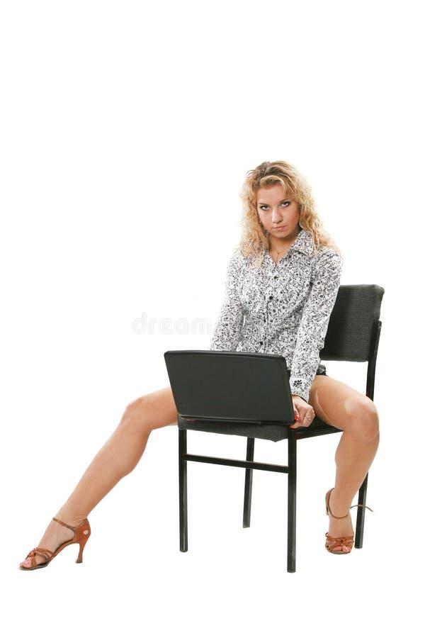 Mujer joven sexual imagen de archivo libre de regalías