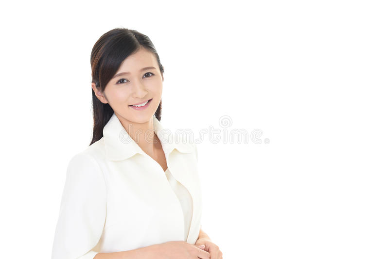 Mujer joven sonriente fotos de archivo