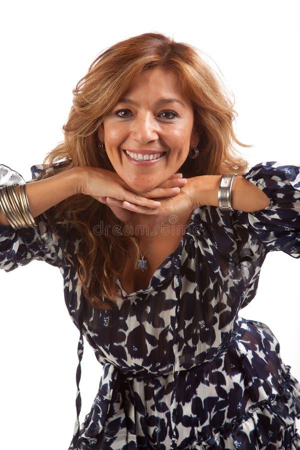 Mujer latina hermosa imagen de archivo libre de regalías