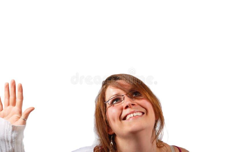 Mujer linda feliz 3 imágenes de archivo libres de regalías