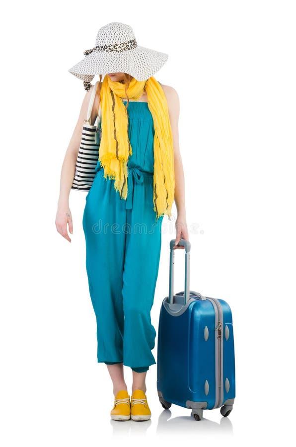 Download Mujer Lista Para Las Vacaciones De Verano Aisladas Foto de archivo - Imagen de holiday, panamá: 41913136