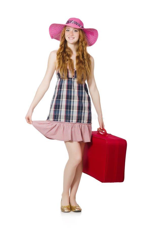 Download Mujer Lista Para Las Vacaciones De Verano Aisladas Imagen de archivo - Imagen de holiday, playa: 41917233