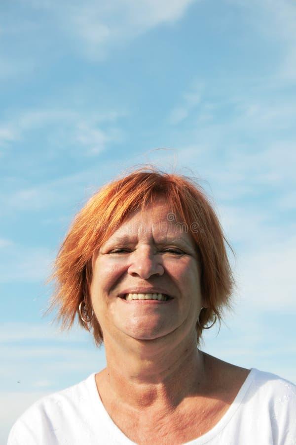 Mujer madura fotos de archivo libres de regalías
