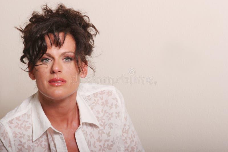 Mujer madura hermosa imagenes de archivo