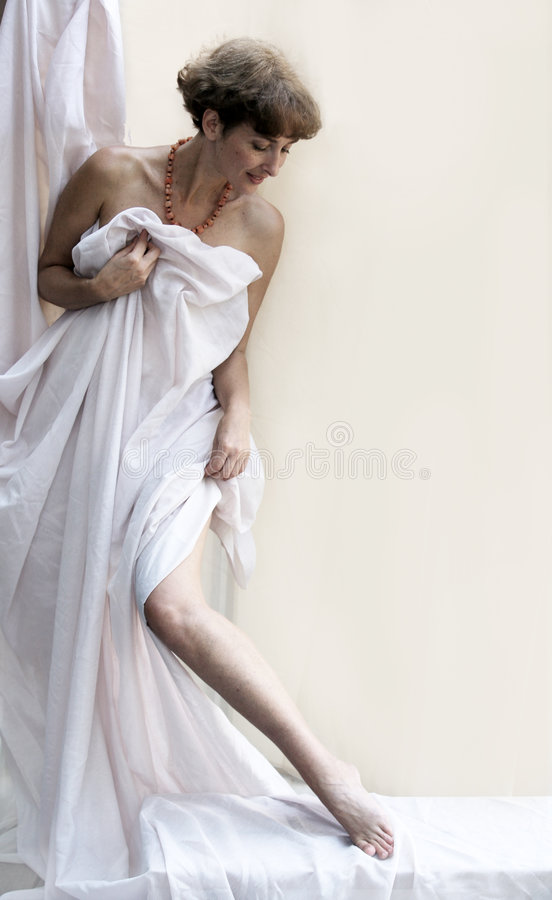 Mujer madura hermosa foto de archivo