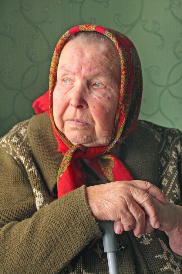 Mujer mayor foto de archivo libre de regalías