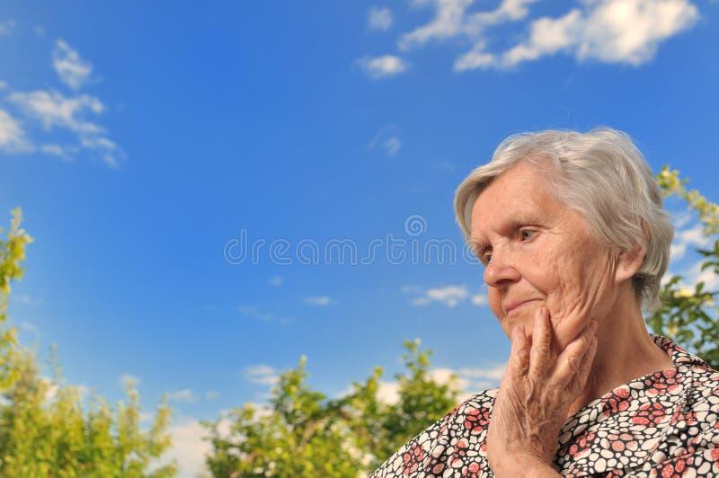 Mujer mayor. fotos de archivo libres de regalías