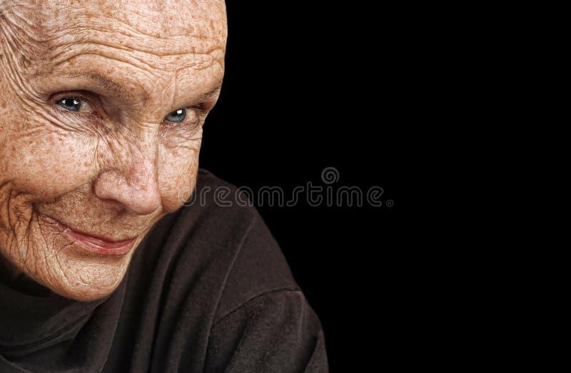 Mujer mayor hermosa foto de archivo