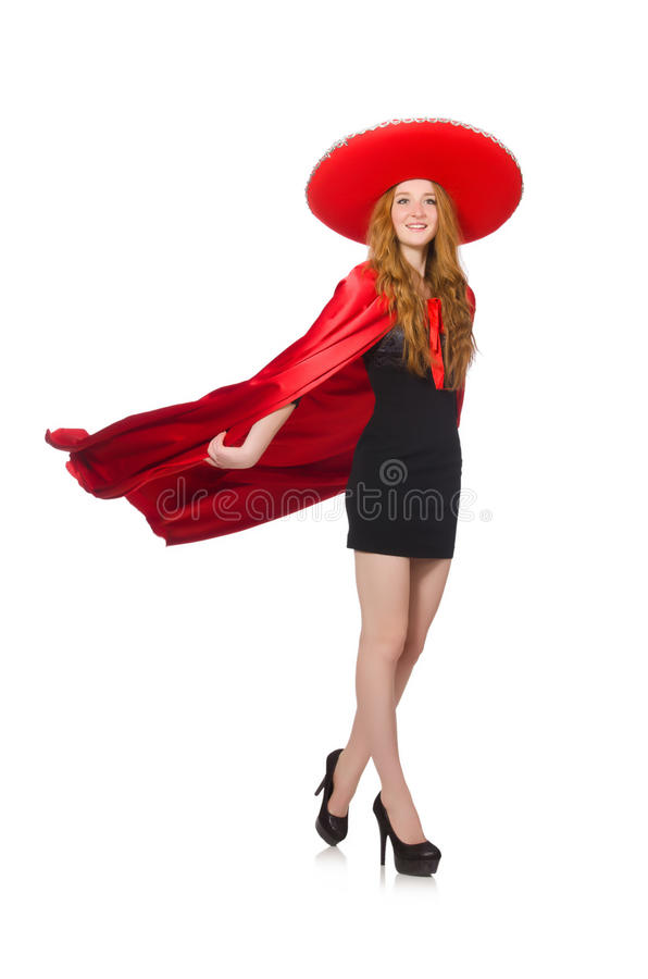 Download Mujer Mexicana En Ropa Roja Foto de archivo - Imagen de mexicano, vendimia: 41914936