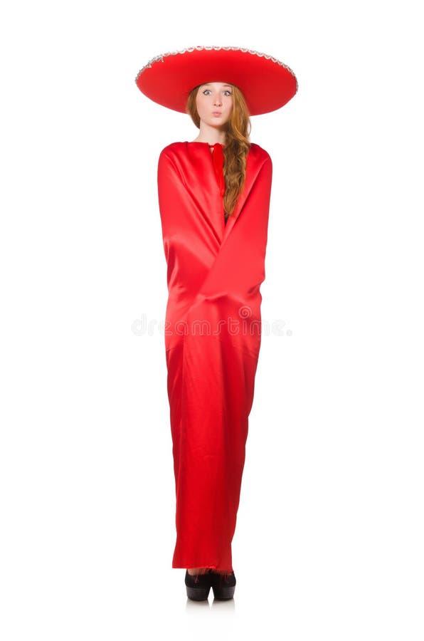 Download Mujer Mexicana En Ropa Roja Foto de archivo - Imagen de chistoso, vendimia: 41914964