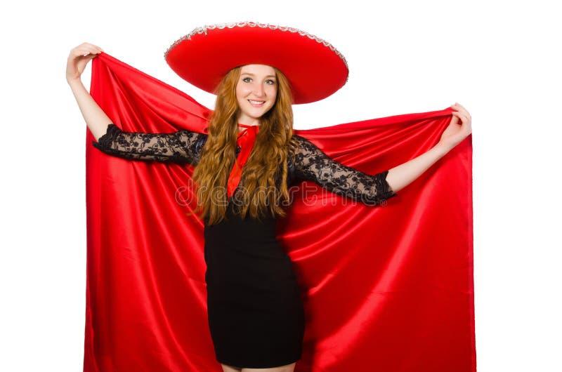Download Mujer Mexicana En Ropa Roja Foto de archivo - Imagen de mariachi, chistoso: 41914968
