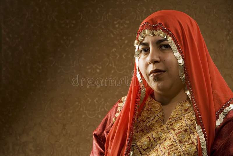 Mujer musulmán fotografía de archivo