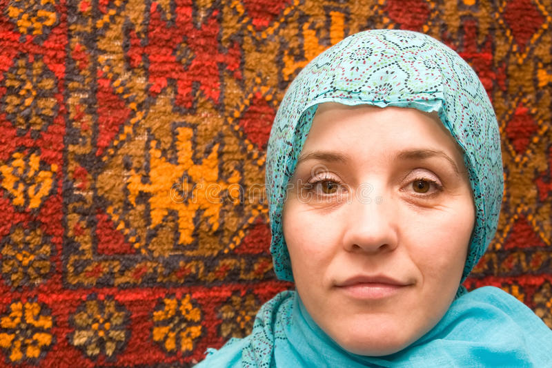 Mujer musulmán del Islam imagen de archivo