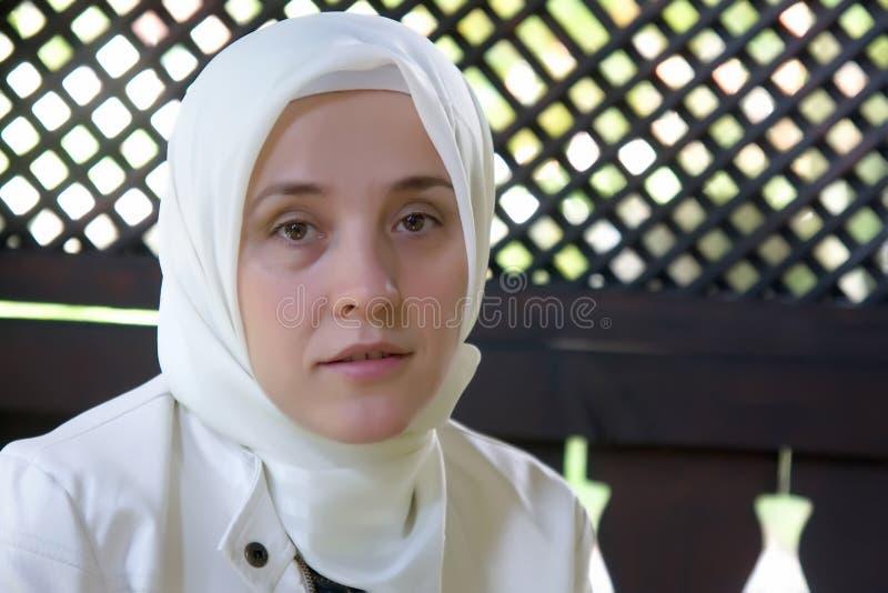 Mujer musulmán del Islam fotos de archivo libres de regalías
