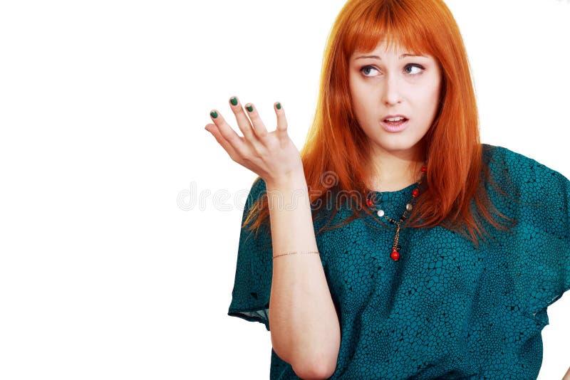 Mujer infeliz fotografía de archivo libre de regalías