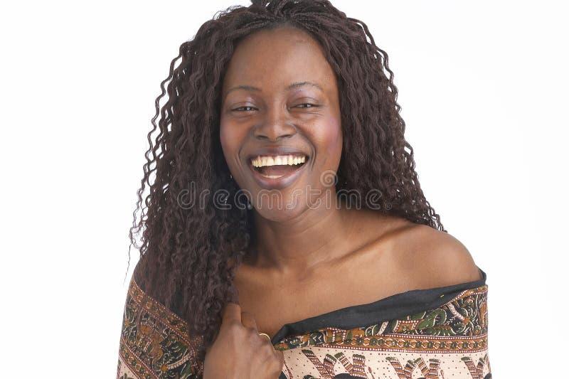 Mujer negra imagenes de archivo