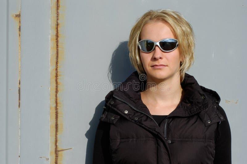 Mujer ocasional fotografía de archivo